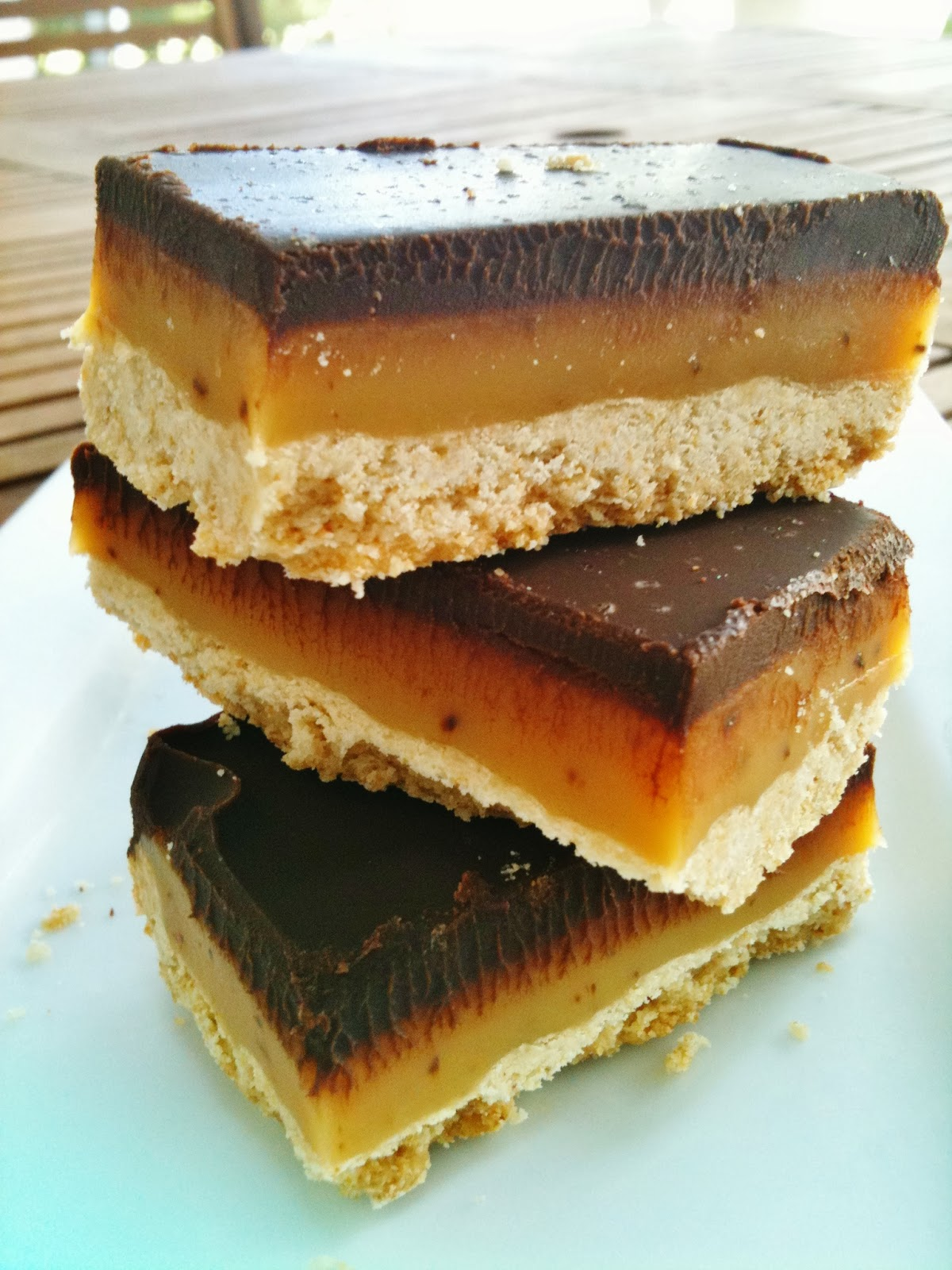 Salted Caramel Chocolate Shortbread Bars | Cook'n is Fun - Food ...