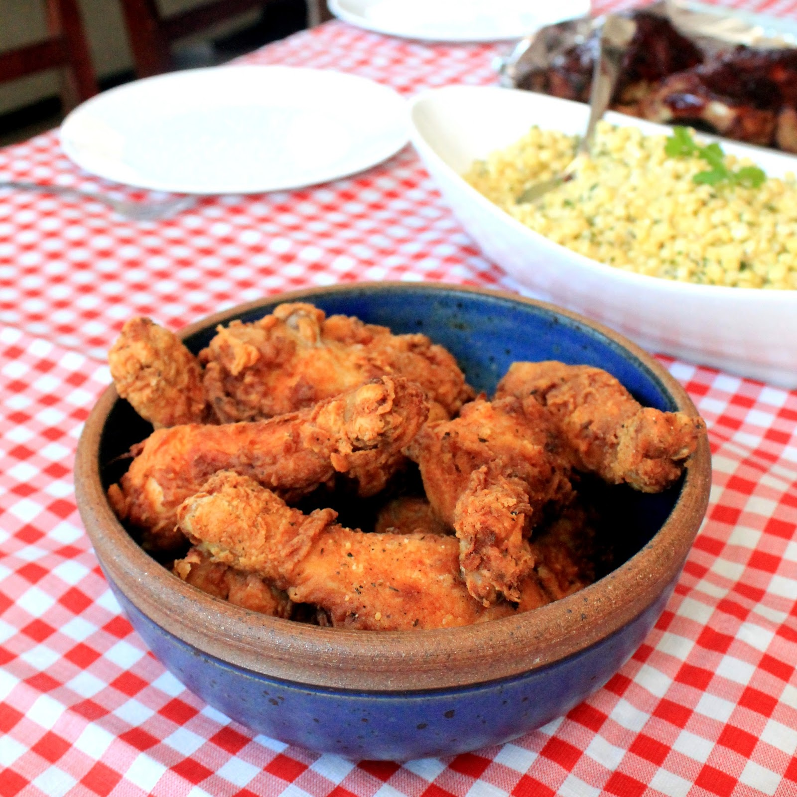 The Stay At Home Chef: Cajun Fried Chicken