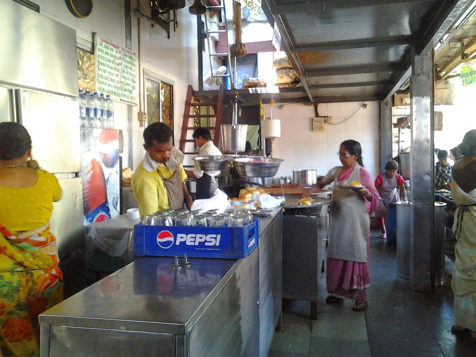 Pav Bhaji Stall