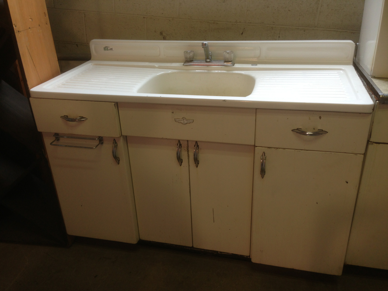 vintage kitchen sink cabinet rebuilding center old kitchen