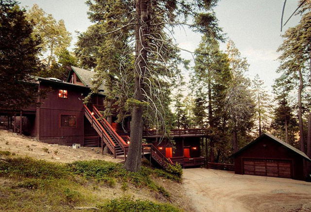 cabin house in lake arrowhead