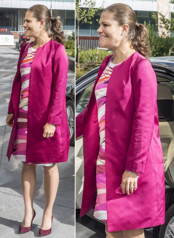 Crown Princess Victoria  Attended The 10th Anniversary Of The ECDC At The Karolinska Institutet