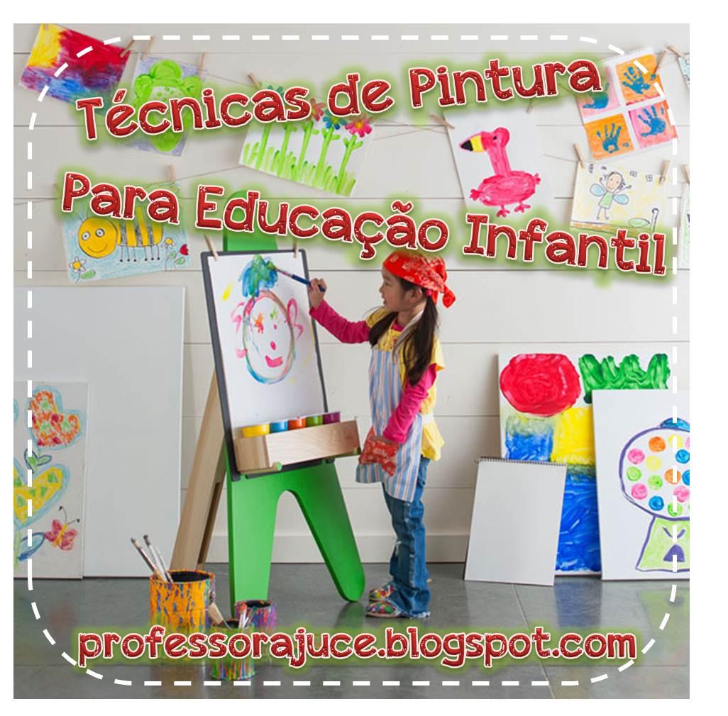 Conhecido Professora Juce: Atividades - Técnicas de Pintura para Educação  TP12