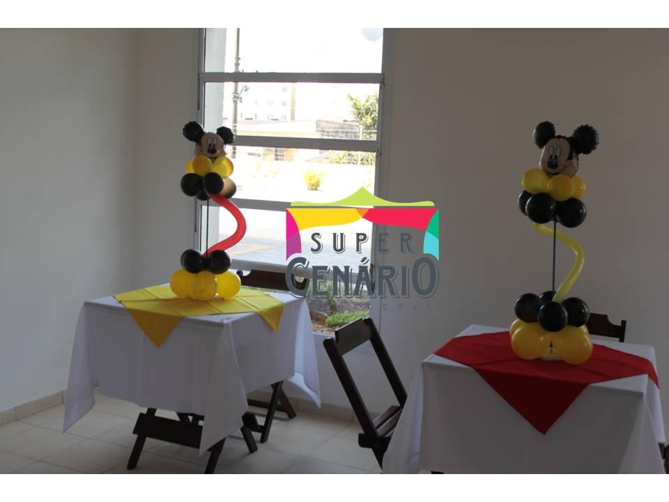 decoracao festa mickey : decoracao festa mickey:Decoracao Clean Festa Infantil Turma Mickey Supercenario