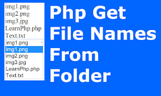 php files names