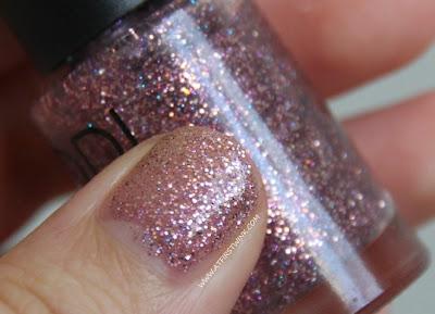 Modi Art Nails set no. 1 - Glitter Layered Collection:Twinkling mix