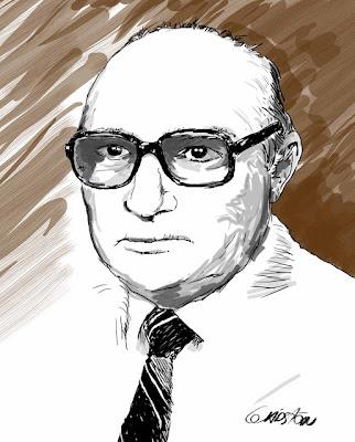 Senhor de óculos (desenho)