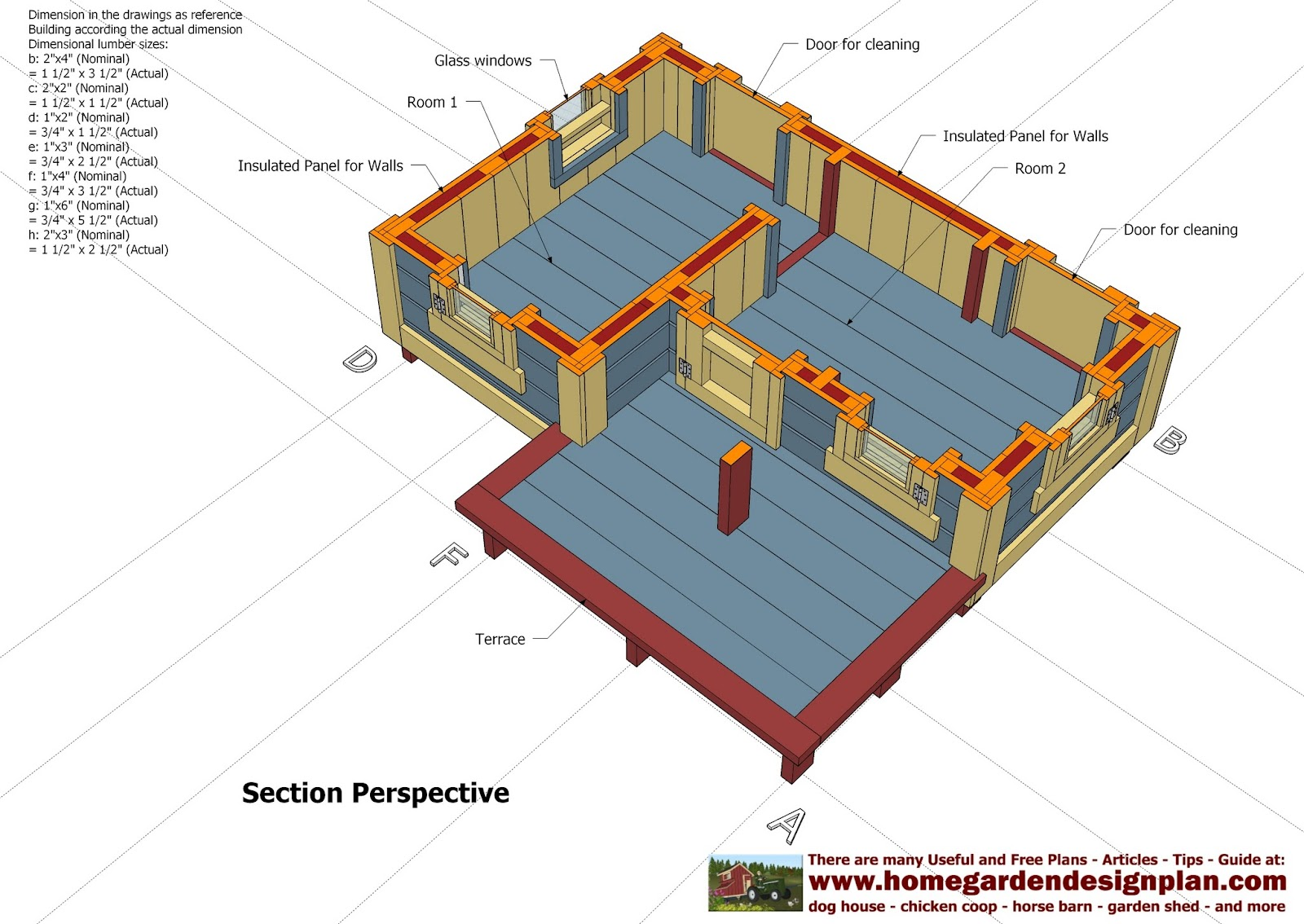 Home garden plans dh303 dog house plans dog house design insulated dog house - Hiring a home designer saves much money and time ...