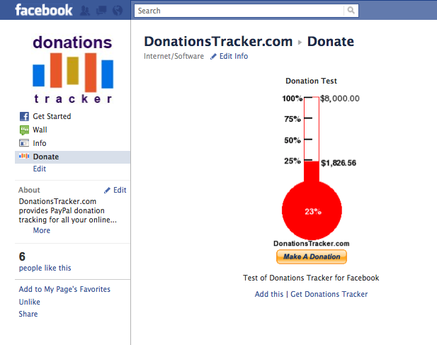 Donations Tracker for PayPal: Facebook Donations Tracker Updated