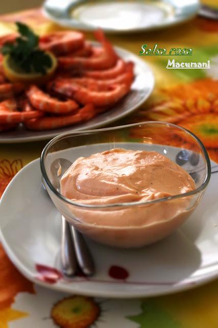 Salsa rosa . Macumani