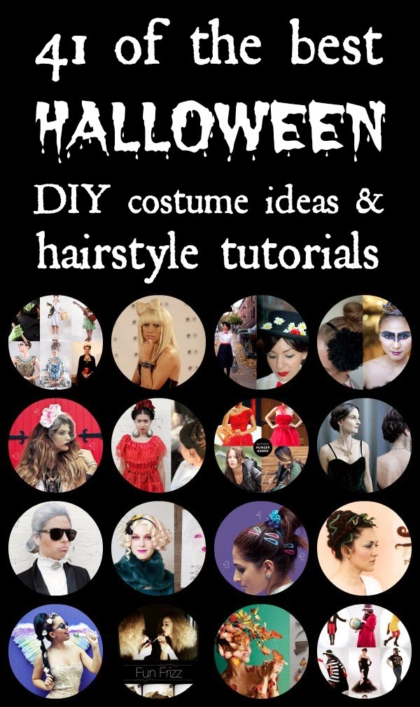 41 of the Best Halloween Costume Ideas and Hairstyle Tutorials