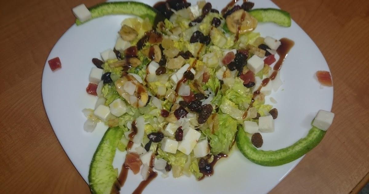 Mi diario de recetas y reposteria creativa ensalada - Ingredientes reposteria creativa ...