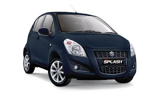 Suzuki New Splash Biru