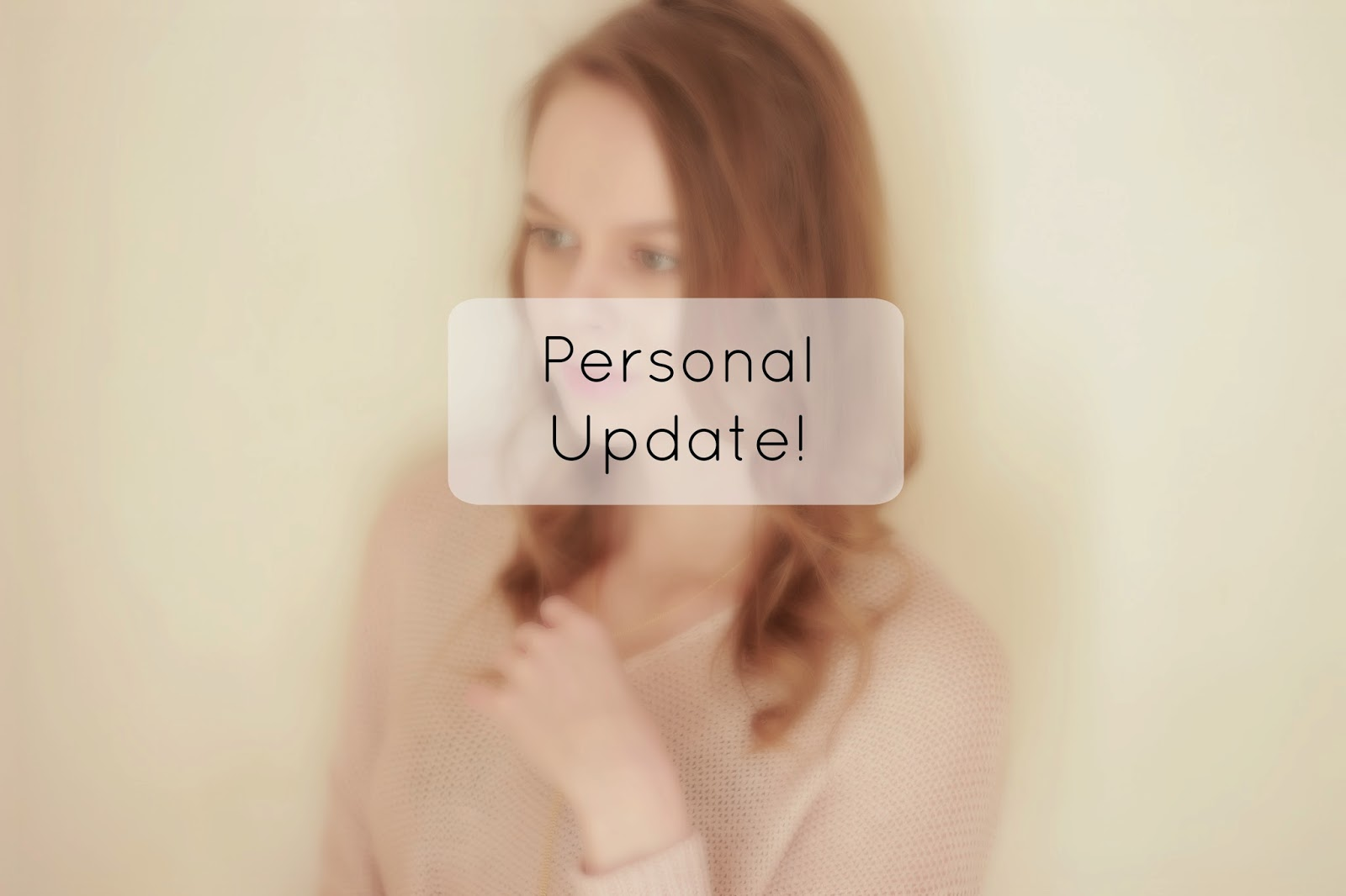 personal update blog