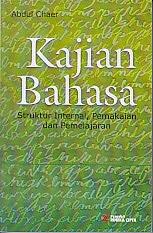 toko buku rahma: buku KAJIAN BAHASA, pengarang abdul chaer, penerbit rineka cipta