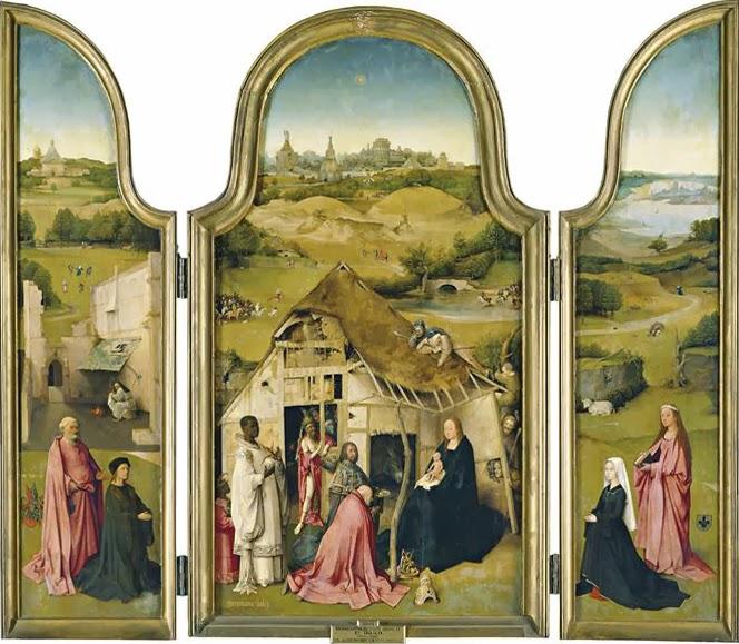 И.Босх. Поклонение волхвов. Около 1510. Музей Прадо (Мадрид)