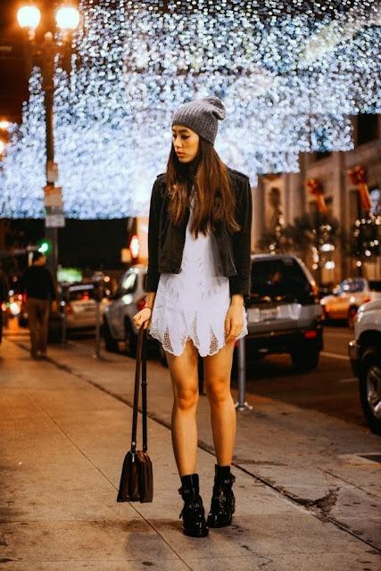 Street Style Fashion Blog Christmas Outfits Red Fall Fashion