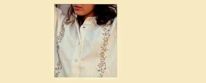Camisas de Lino bordadas en Vicuña