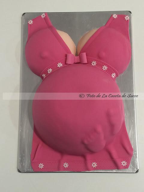 tarta barriga embarazada 1