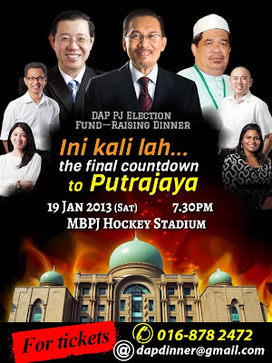 Ini Kali-lah... The Final Countdown to Putrajaya