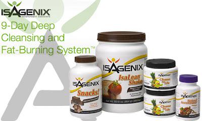 Isagenix 9 day Cleansing giảm cân làm sạch cơ thể trong 9 ngày