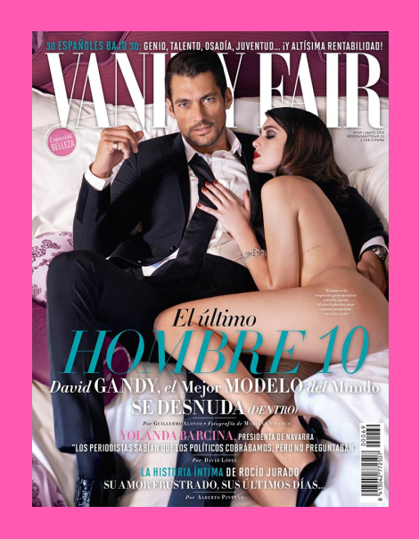David Gandy by Mariano Vivanco for Vanity Fair Espana
