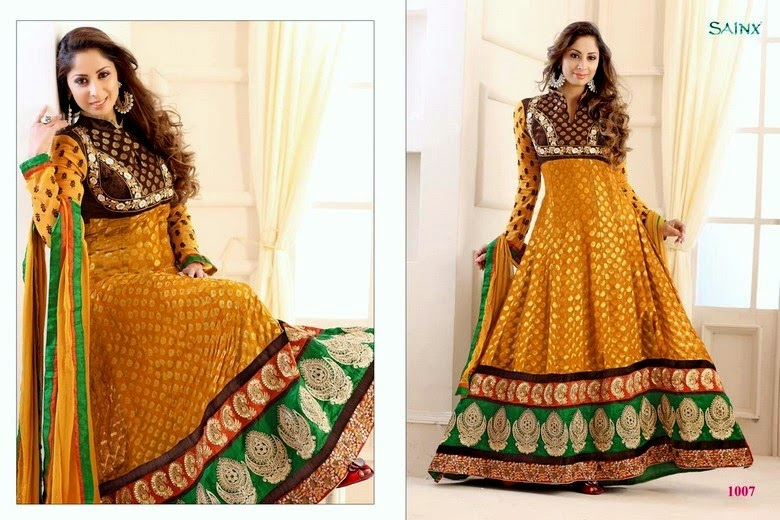 Indian Anarkali Dresses Collection for Girls