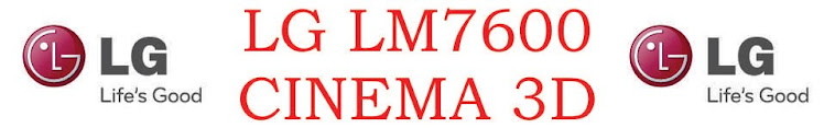 LG LM7600 Cinema 3D