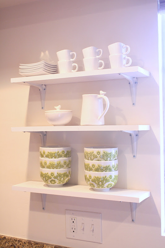 Project home diy kitchen shelves for Diy shelves philippines