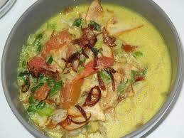 Resep masakan soto ayam santan dan cara membuatnya