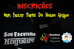 INSCRIÇÕES - NOVOS ESCUTEIROS