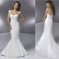 Mermaid Style Wedding Dresses Photos 2013