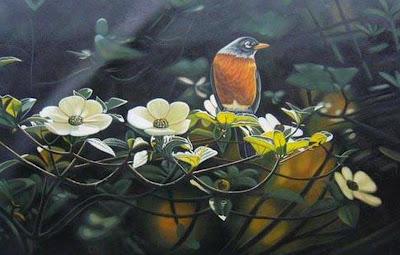 paisaje-flores-y-pajaro