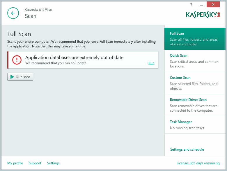 Kaspersky Anti-Virus 15.0.0.463