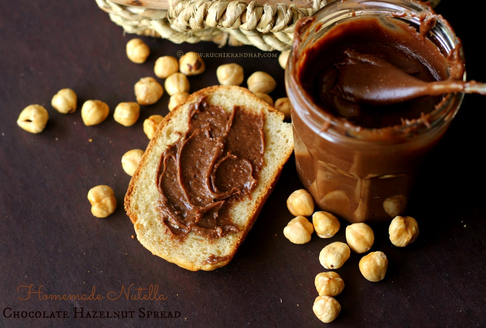 ... Homemade Nutella (Chocolate Hazelnut Spread) ~ Just Takes 3