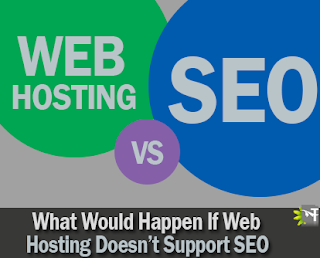 what would happen if web hosting doesn't support SEO