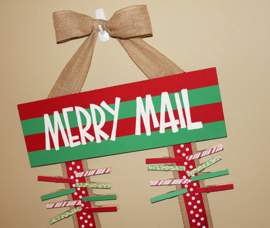 Merry Christmas-Merry Mail-card