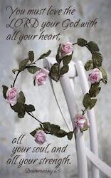 Szeresd az Örökkévalót, teljes szívvel-lélekkel és minden erőddel!