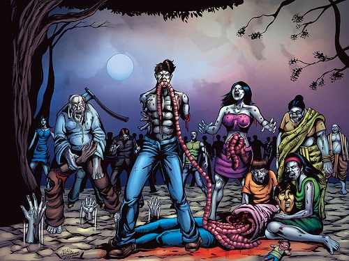 infected(thriller) - hindi comics