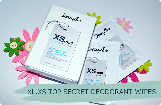 Douglas Box of Beauty im September XL.XS TOP SECRET DEODORANT WIPES