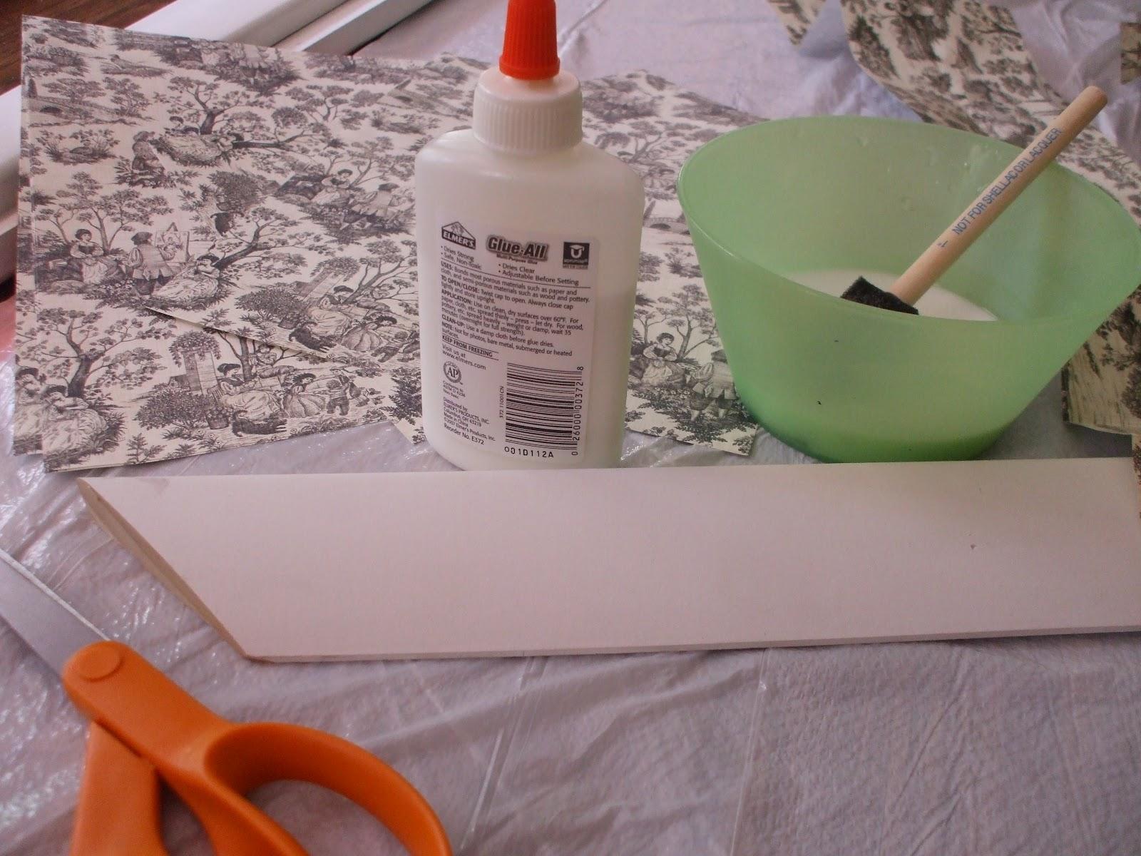 The Fine Art Of Motherhood Do It Yourself Frame W Scrapbook Paper