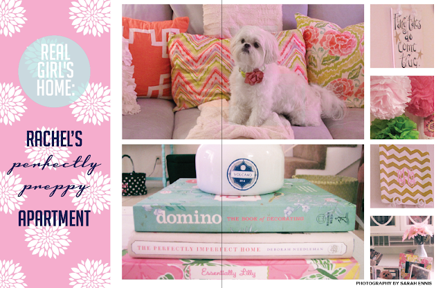 LPF Mag Issue #4 / Rache's Perfectly Preppy Apartment