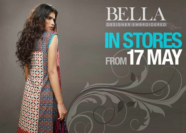 Bella Designer Embroidered Collection 2014