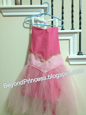 BeyondPrincess.blogspot.com: Pretty Princess Apron - Sleeping Beauty Pink