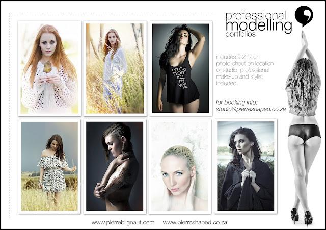 Pierre Blignaut Professional modelling portfolios