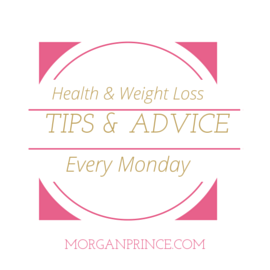 Morgan's Milieu | Health and Weight Loss Tips 23: health and weight loss tips badge