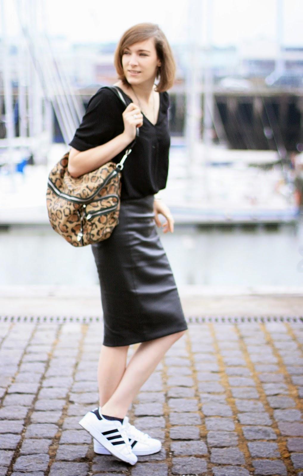 Style jupe crayon basket - Que porter avec une jupe crayon ...