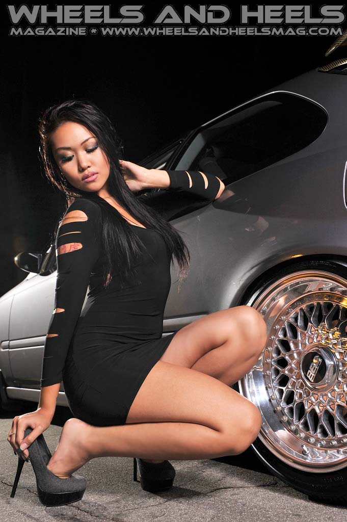 W Amp Hm Wheels And Heels Magazine Cover Model Chaba