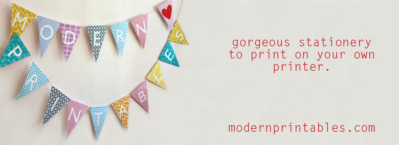 Modern Printables