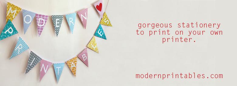 Modern Printables